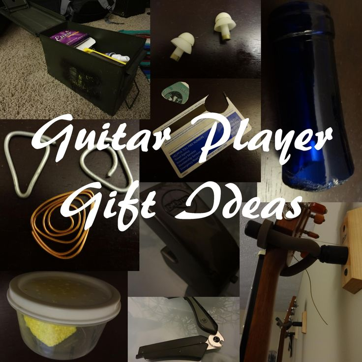 Guitar Player Gift Ideas: Unique Guitar Accessories