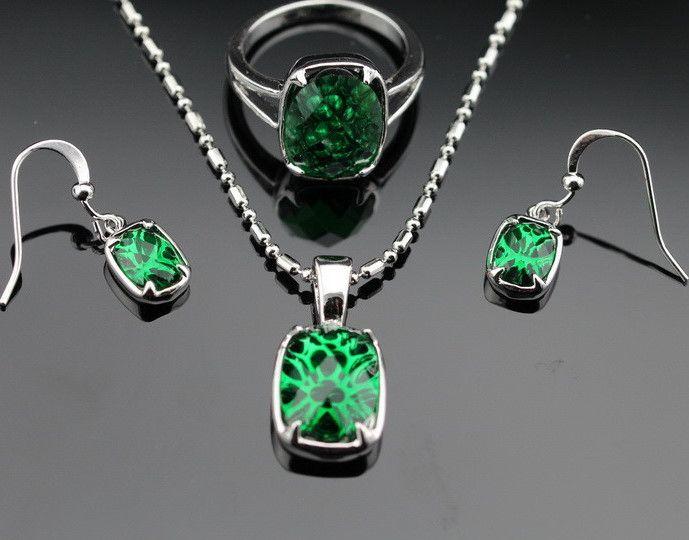 GREEN EMERALD JEWELERY SET http://www.gotclicks1.com/fBs39PBZshAC