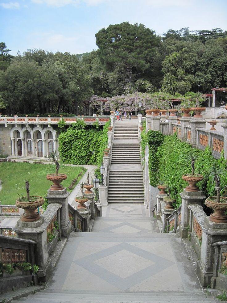 Riserva Naturale Marina di Miramare: parco del castello - Trieste