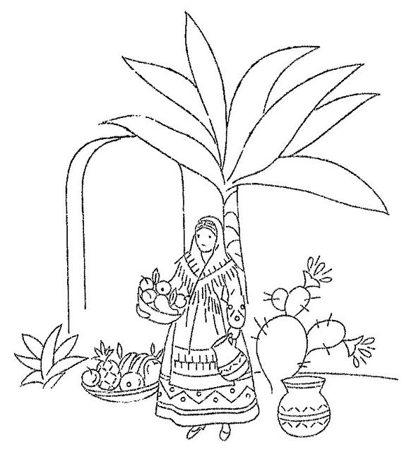 Design Style Spanish Coloring Pages