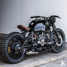 Killer BMW R80 from @arjanvandenboom of Ironwood Custom Motorcycles in Amsterdam.