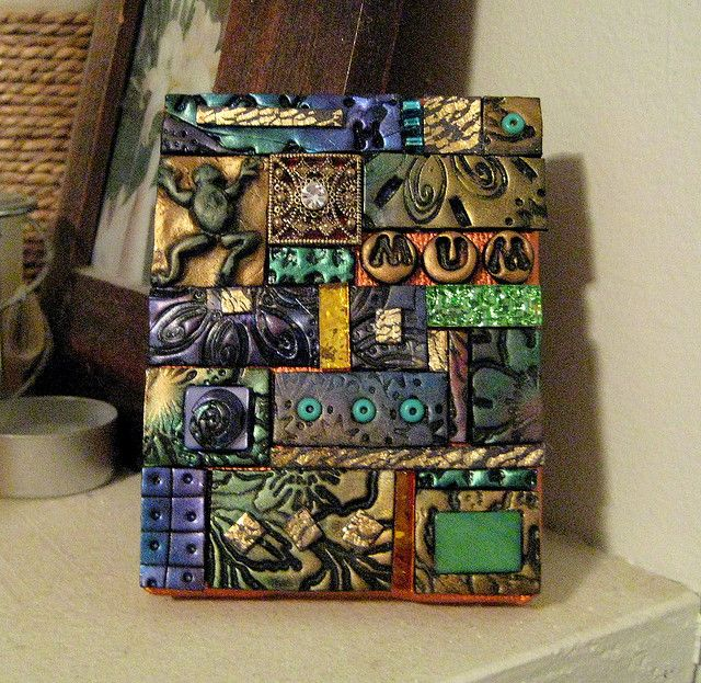 358 Best Images About Polymer Clay Tiles On Pinterest