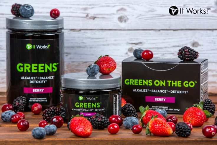 We love our Greens BERRY much! Try them today! Ask me abt 40% discount and free shipping! Kickbuttwithme@hotmail.com www.kickbuttwithme.myitworks.com