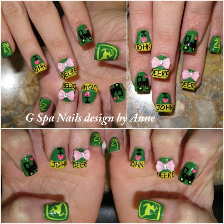 john deere & browning nails
