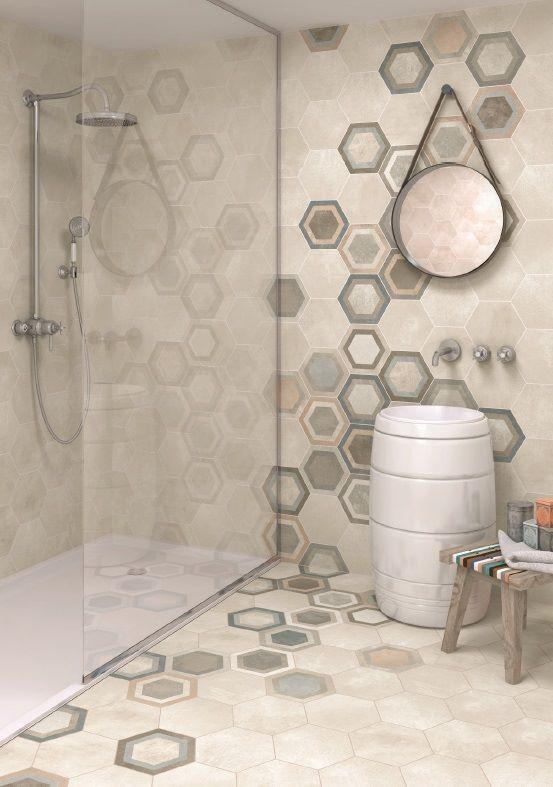 77 best Hexagon tegels (zeshoekig) images on Pinterest | Honeycomb ...