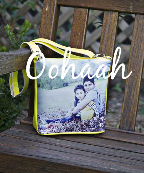 Milly  Use your own photo to create your own designer handbag