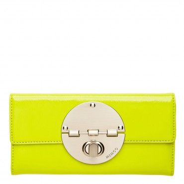 LARGE TURNLOCK WALLET - Wallets - #Mimco i like this one better than the one i have