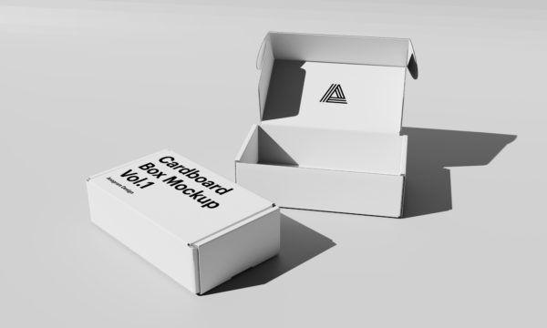 Download Free Cardboard Box Mockup Box Mockup Free Packaging Mockup Mockup