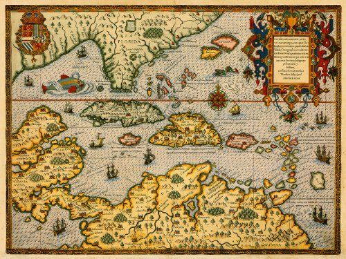 Best Antique And Historical Maps Images On Pinterest - Antiques us maps with compass