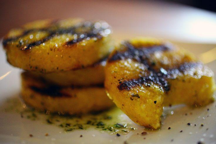 Crispy grilled polenta | Veggie Meals | Pinterest | Polenta, Polenta ...