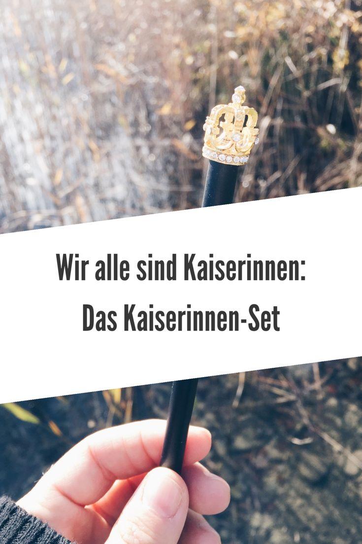 Kaiserinnen-Set eine Geschenkideen für tolle Frauen. Goldenes Notizbuch, Armband, ..Werbung #geschenkidee #kaiserin