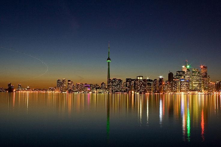 Toronto skyline..