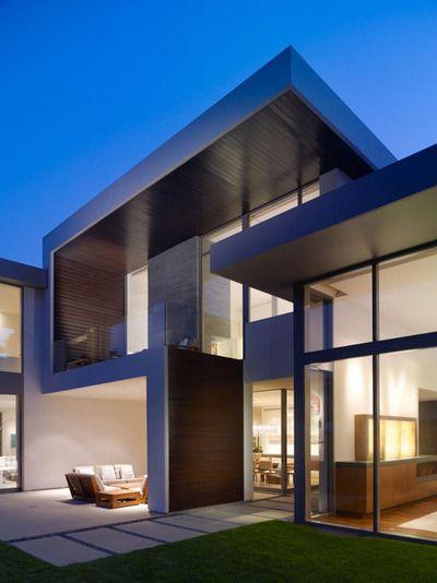 clean modern exterior