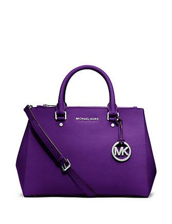 MICHAEL MICHAEL KORS Sutton Saffiano Leather Medium Satchel Bag