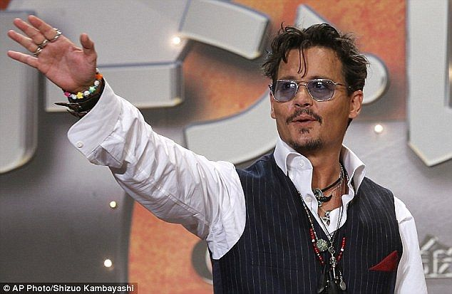 Johnny Depp and Amber Heard 'had bust-up on private jet after Lone Ranger flopped | Daily Mail Online
