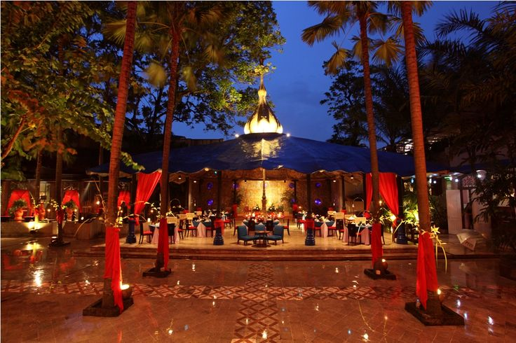 A surreally romantic, gigantic open-space area with a large stage, that appear to have existed only in the tales of the 1,001 Nights - Hotel Tugu Malang http://www.tuguhotels.com/malang/tugumalang21-the_sahara.html