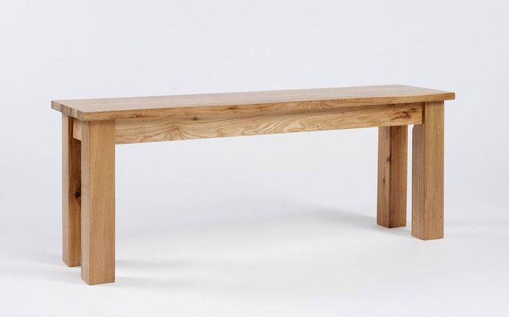 http://www.bonsoni.com/anova/lansdown-oak-small-bench  The height is 45cm and the width is 117cm. It is Oak Finish and there are Square Legs. It is the part of Lansdown Oak range from Ametis.  http://www.bonsoni.com/anova/lansdown-oak-small-bench