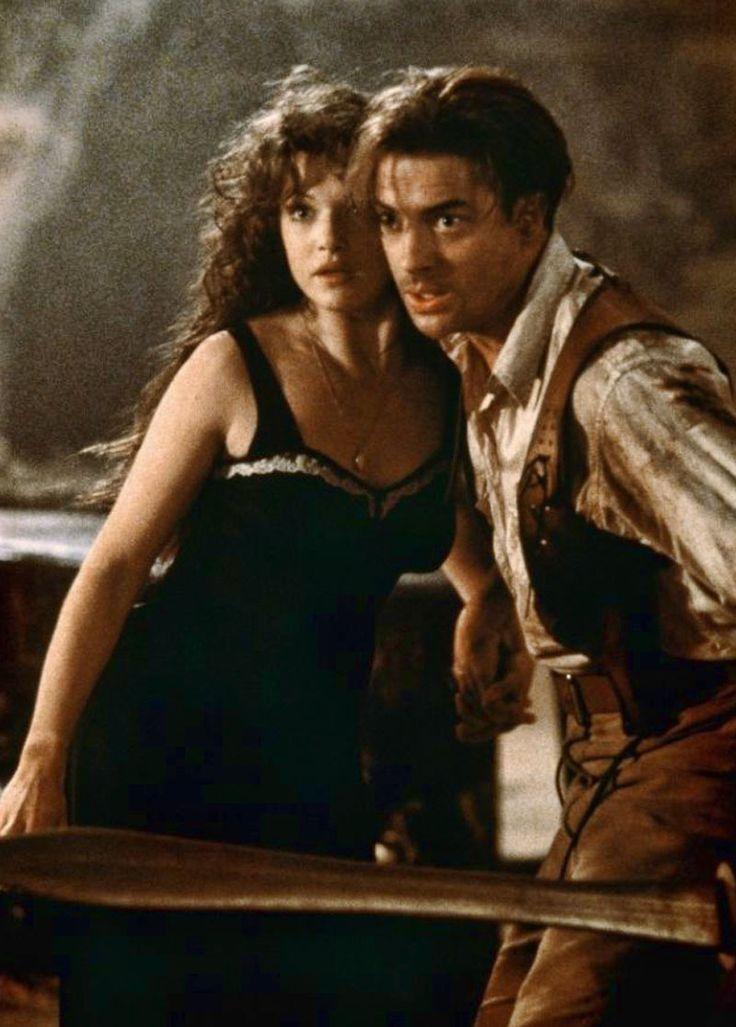 "Rachel Weisz y Brendan Fraser en ""La momia"", 1999"