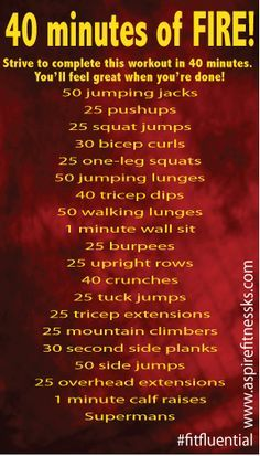 Workouts for anywhere, anytime