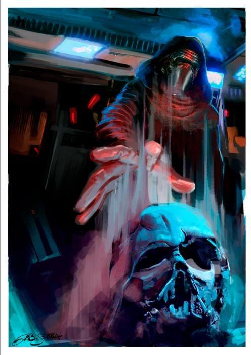 star-wars-the-force-awakens-fan-art-focuses-on-kylo-ren-and-vaders-helmet