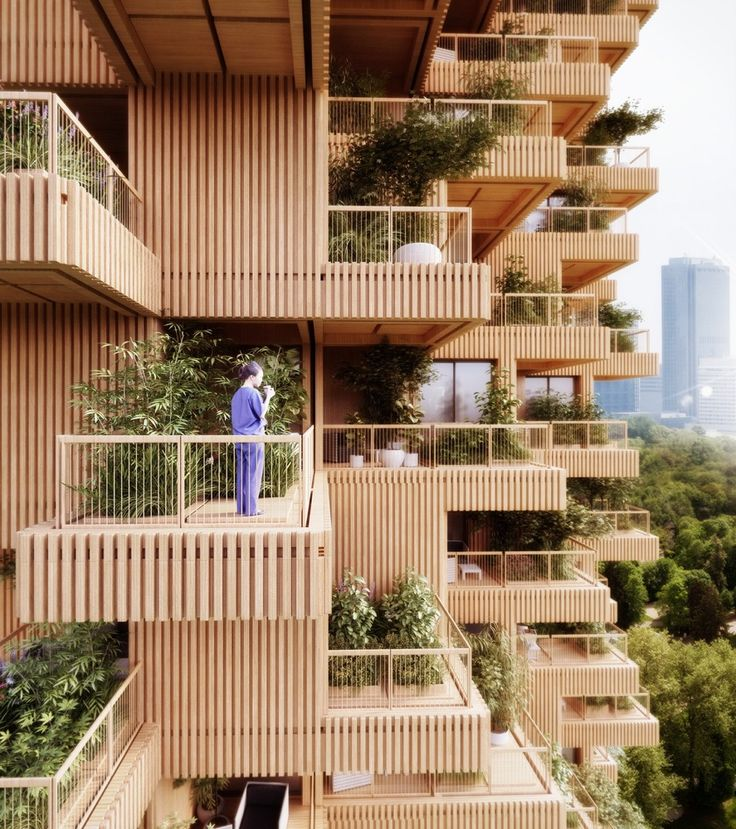 Gallery of Penda Designs Modular Timber Tower Inspired by Habitat 67 for Toronto - 3