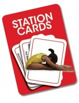 Form, Fitness, Flexibility Test Station Cards