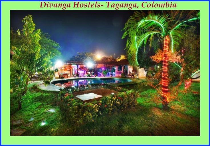 Reserva tu hostal en #Taganga #Colombia a un precio asequible y disfrutar de sus vacaciones. http://www.divanga.com
