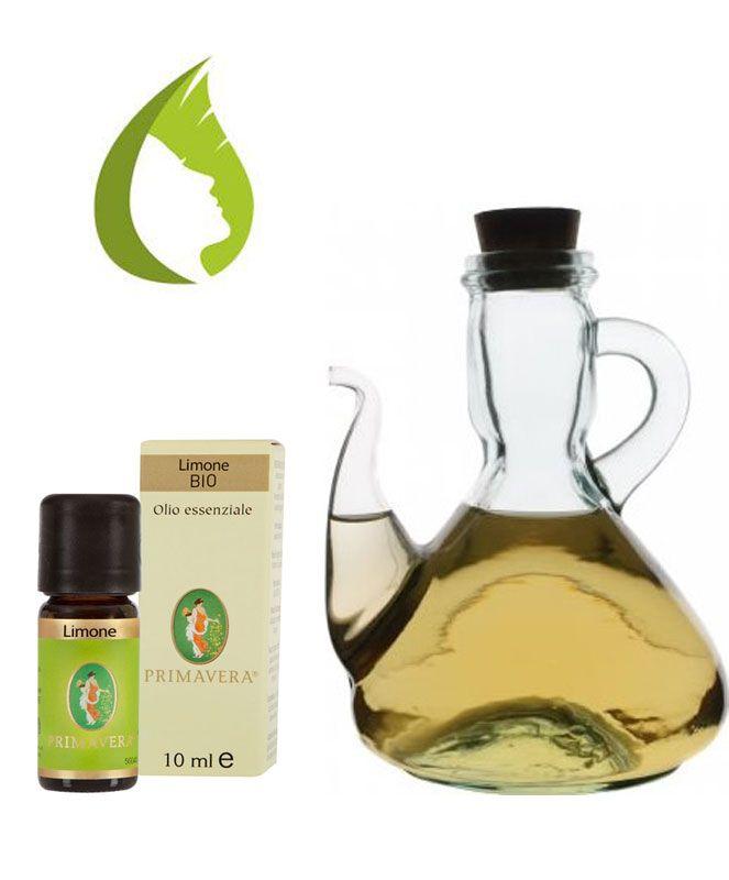 VETRERIA E STOVIGLIE ALL'AROMA DI LIMONE Se il calcare ha opacizzato bicchieri e contenitori di vetro, puoi lucidarli in modo semplice. naturale e profumato. Diluire in 1/2 litro d'acqua un bicchiere di aceto e 10/15 gocce di O.E. di Limone (fortificante, rinfrescante, stimolante). Trovi l'olio essenziale puro 100% di Limone BIO su www.prodottidibenessere.it