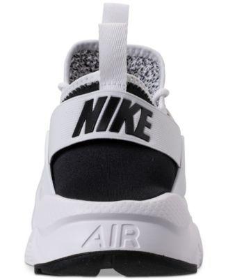 e713762888f87 Nike Men s Air Huarache Run Ultra Se Casual Sneakers from Finish Line -  Black 11.5