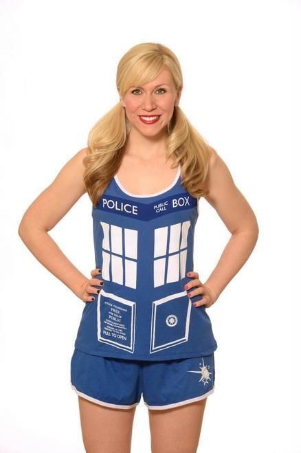 Commemorate your favorite cult classic with an awesome Doctor Who TARDIS Juniors Dark Blue Costume Pajama Set . Free shipping on Doctor Who orders over $50.