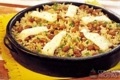 Receita de Baião de dois tradicional - Comida e Receitas