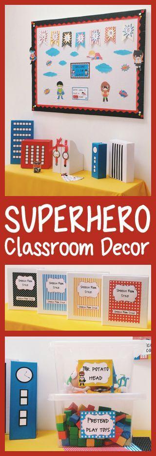 Classroom Decor Superhero : Best classroom design images on pinterest