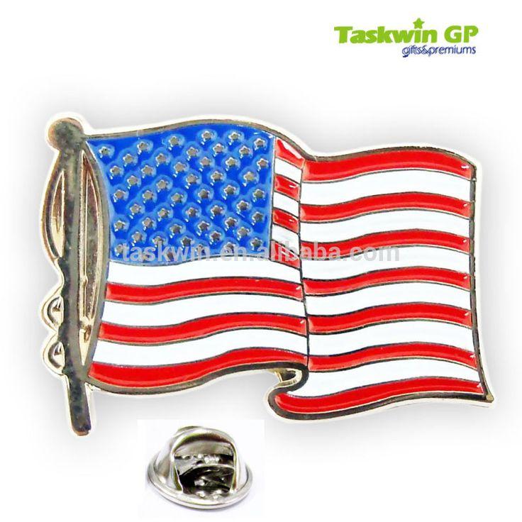 Alibaba Gold Supplier Supply High Quality Metal American Enamel Flag Pin - Buy Flag Pin,American Flag Pin,Collar Pin Product on Alibaba.com