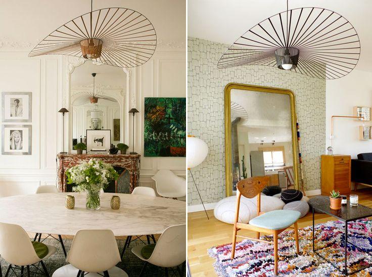 Décoration, tendance luminaire. Plafonier original feminin et glamour, la suspension Vertigo. / Decoration, lighting trend. original ceiling feminine and glamorous, the Vertigo suspension.