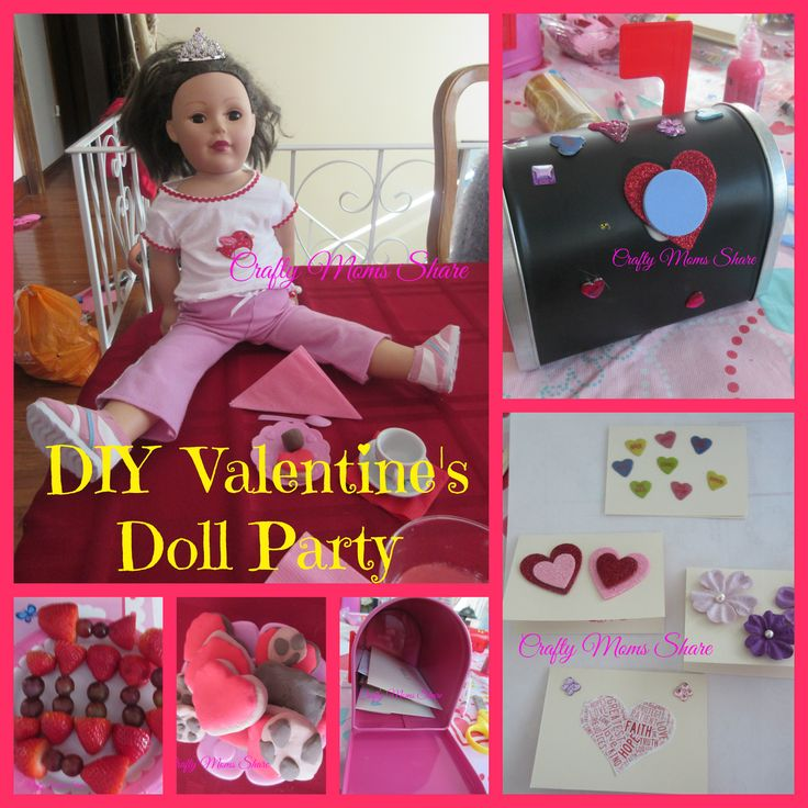 Crafty Moms Share: Doll Valentine Play Date