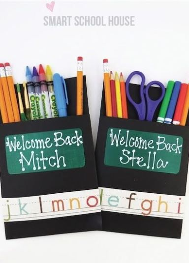 A Welcome Back to School Pack for students. Such a fun way to celebrate a new school year!