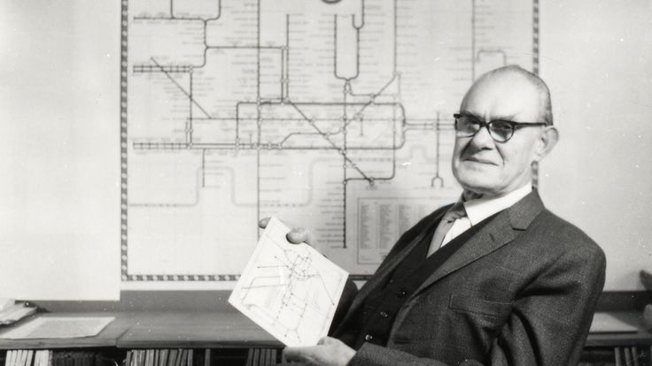 Meet Harry Beck, the genius behind London's iconic subway map