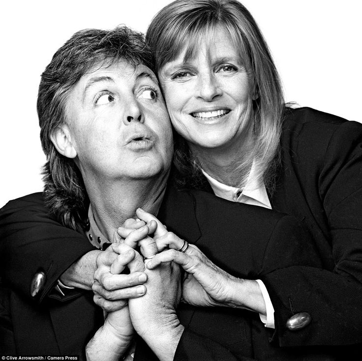 Unseen images captured by photographer Clive Arrowsmith of Sir Paul and Linda McCartney sh...