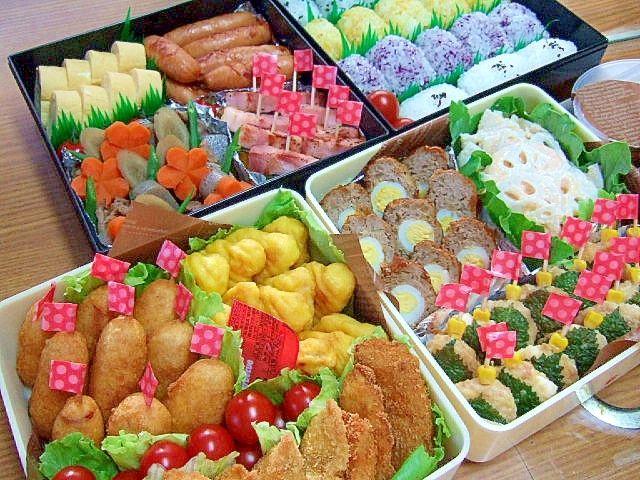 梅Happyさんの2013運動会のお弁当♪