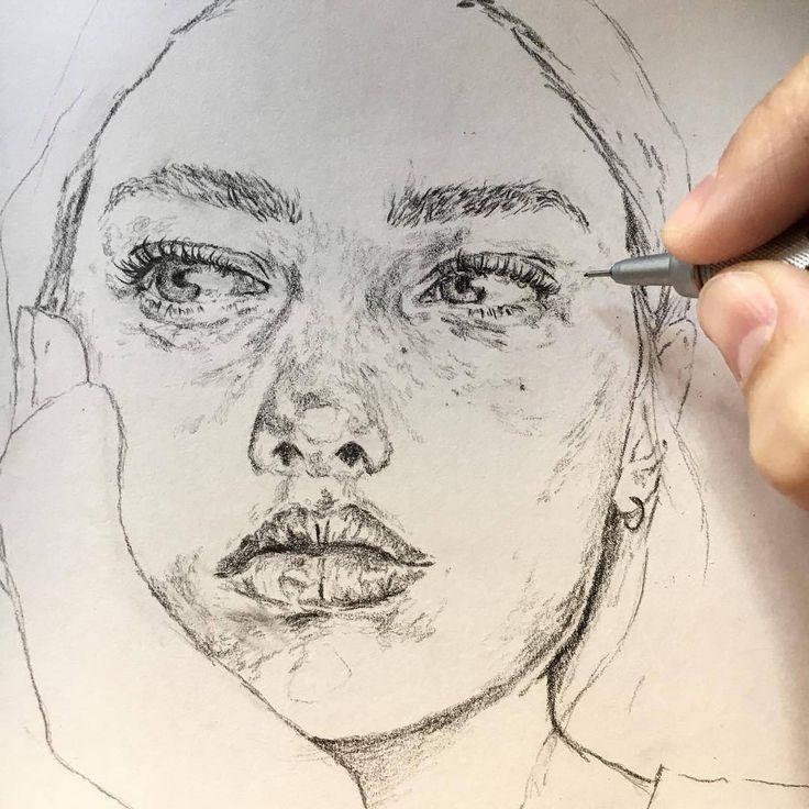 @goodmorningart :  Artist @cligelmo : : ❤️ #goodmorningart : #artist #draw #drawing #aquarelle #portrait #caligraphy #pen #arts #crafts #vsco #welcomearts #sketchbook #art #sketch #apple #luxury #vsco #instadaily #instagood #ipad #ipadart #decor #welcomearts #instagood #instaart #instaartist #goodmorningart #art #arte #good #watercolor #illustration