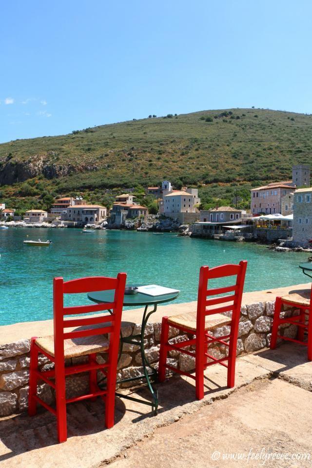 Limeni, Mani Region - picturesque port with tavernas