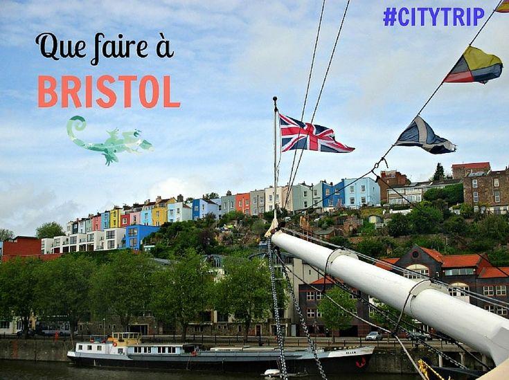 Direction Bristol, Angleterre, avec un cityguide inversé pour découvrir Bristol !