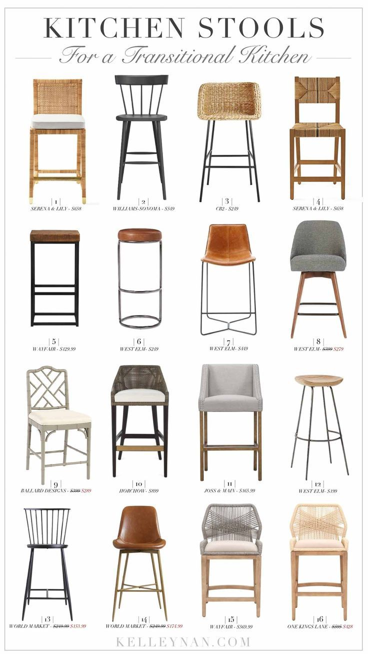 Best Kitchen Stools A Round Up Of The 16 Best Classic And Modern Bar And Counter