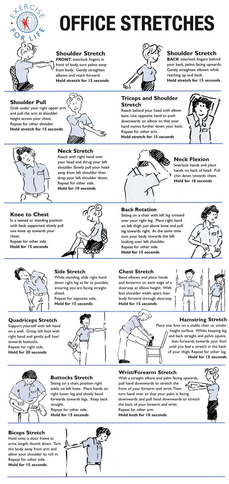 Occupational Therapy Office Stretches These Will Help You Muscles Keep In Good Health And Your Joints The Proper Place Regular Breaks Also
