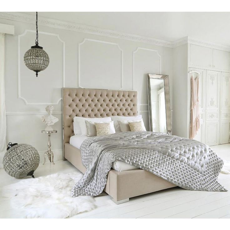 Boutique Bed | Luxurious king Size Bed. The French Bedroom Company currently offers 10% off any mattress with this bed.