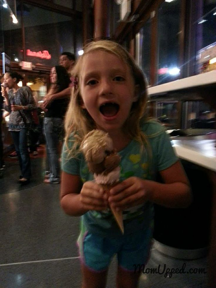 Summer fun ideas - let them get a triple decker ice cream cone.  Every kids' dream!  http://www.momupped.com/go-out-for-ice-cream.html