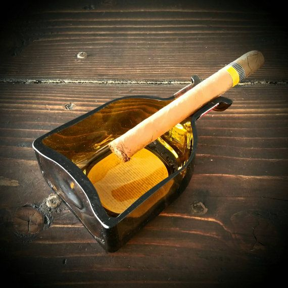 Don Julio cigar ashtray by GrumpyDogCandles on Etsy