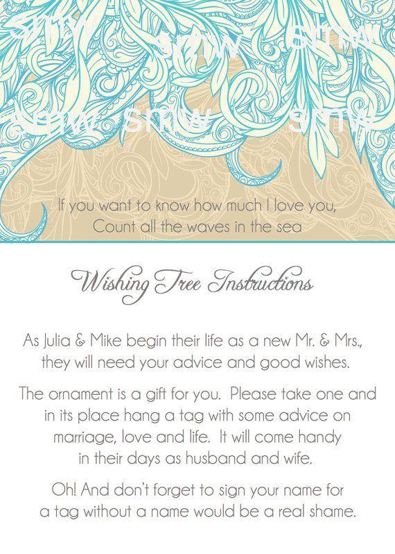 wishing tree instructions | Wedding Wishing Trees | http://emmalinebride.com/decor/wedding-wishing-tree/