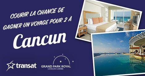 itravel2000 Concours! GAGNEZ une voyage pour 2!