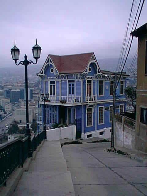 casas antiguas de valparaiso - Buscar con Google